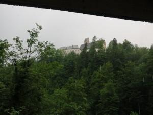 Das Kloster thront immer oben