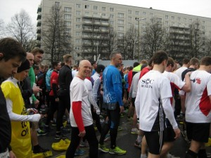 Der Marsch auf die Startlinie