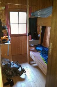 Platz ist in der kleinsten Hütte