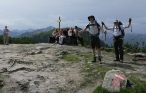 Der erste Gipfelsturm: Hochwurzen!
