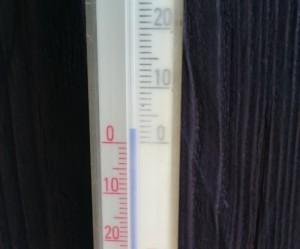... bei ganz unglaublichen 3°C !!!