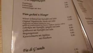 Die ungewöhnlichste Speisekarte der Alpen: mit echter nepalesischer Spezialität